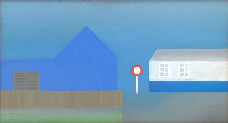 Michal Studený - Modré domy