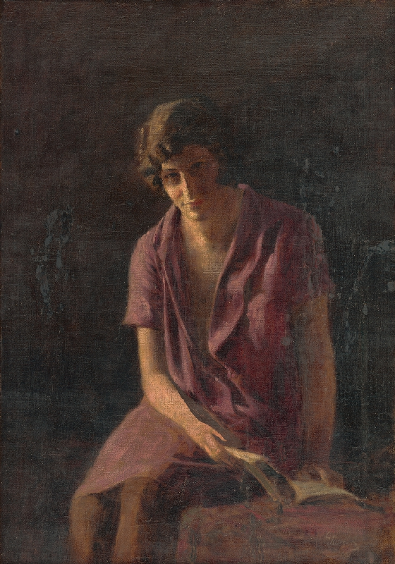 Armin Glatter - Dievča s knihou