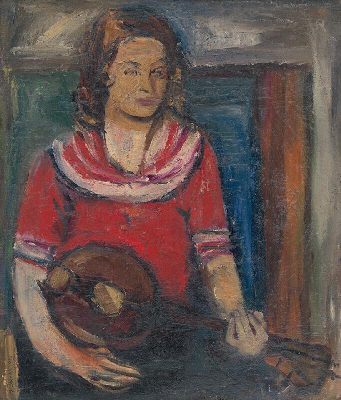 Jozef Šturdík - Dievča s hudobným nástrojom