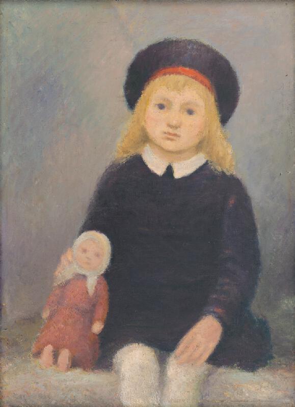 Ján Mudroch – Dievčatko s bábikou