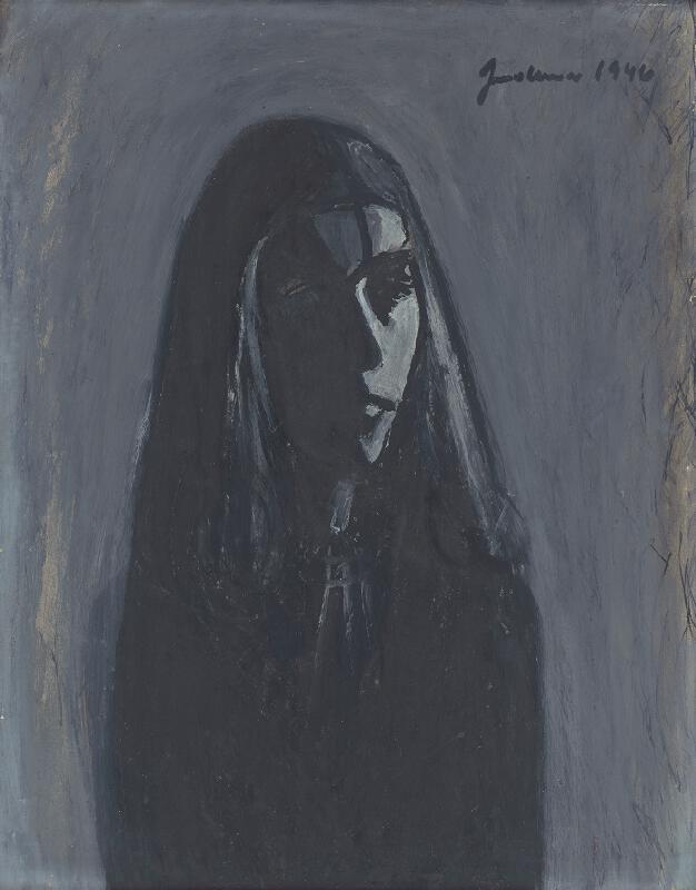 Ladislav Guderna - Portrét dievčaťa