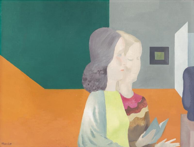 Viera Kraicová - Návšteva galérie