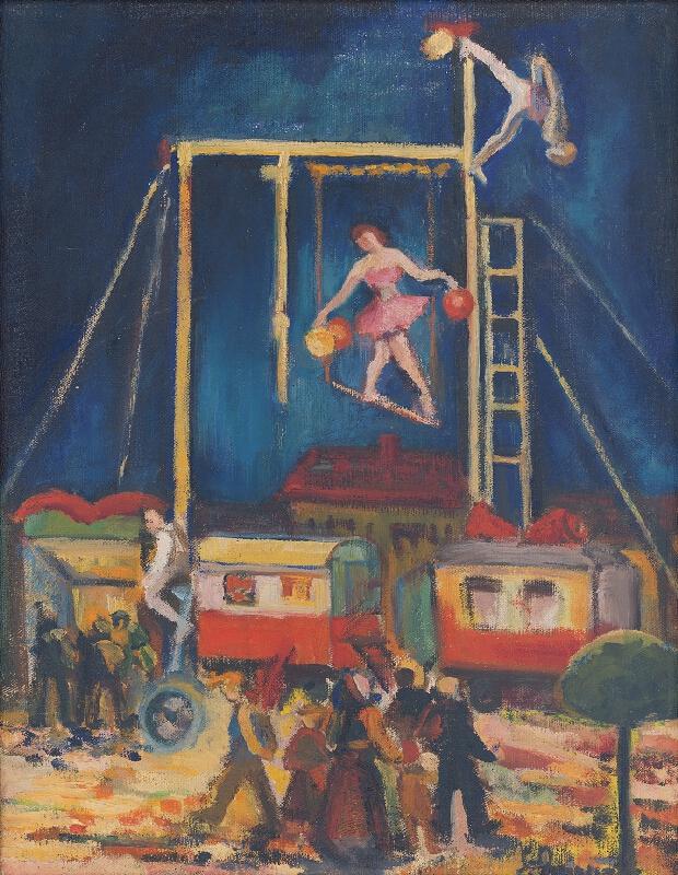 Sibylla Greinerová - Cirkus