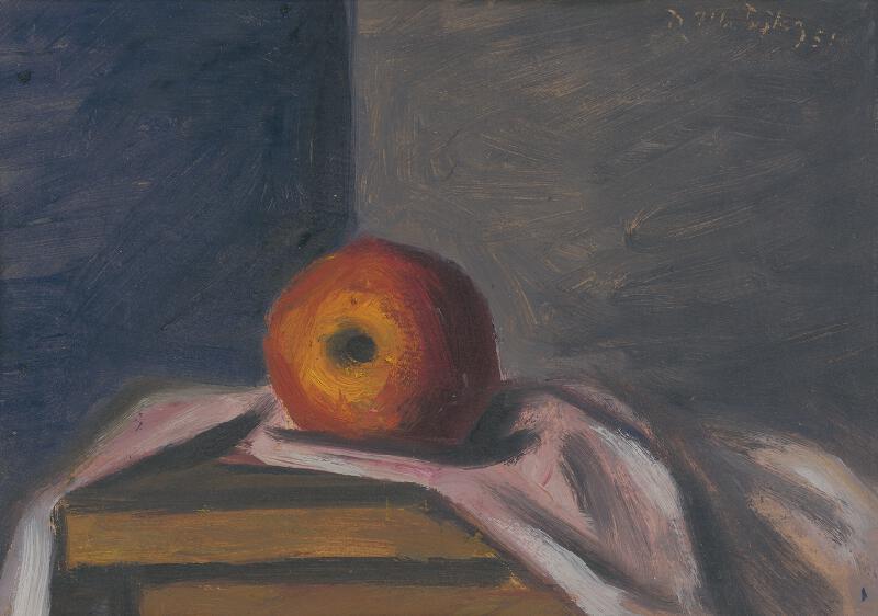 Peter Matejka - Zátišie s jabĺčkom