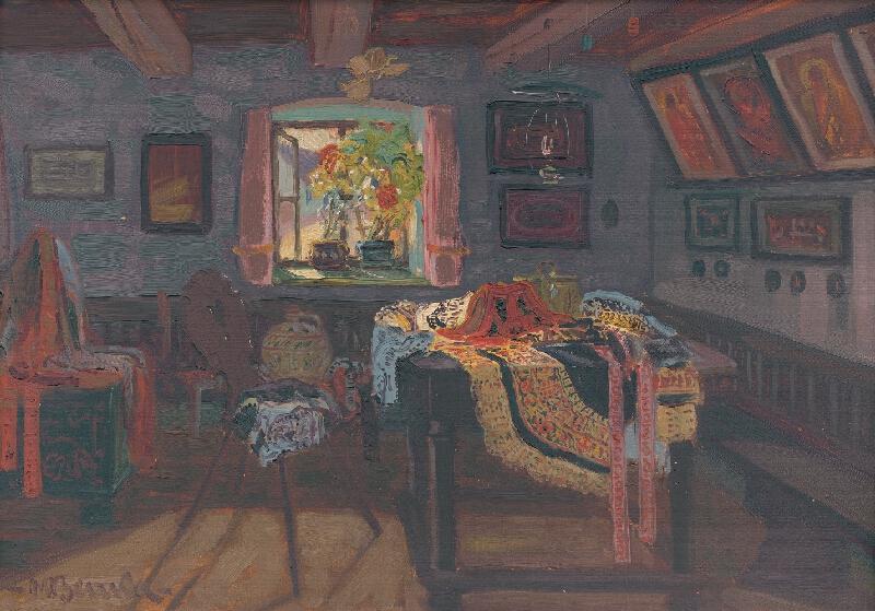 Martin Benka - Izba z Ratiškoviec