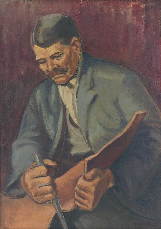 Prochazka - Portrét garbiara