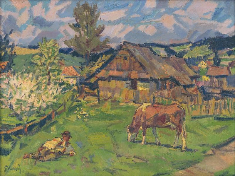 Gustáv Mallý - Jar v Ždiari