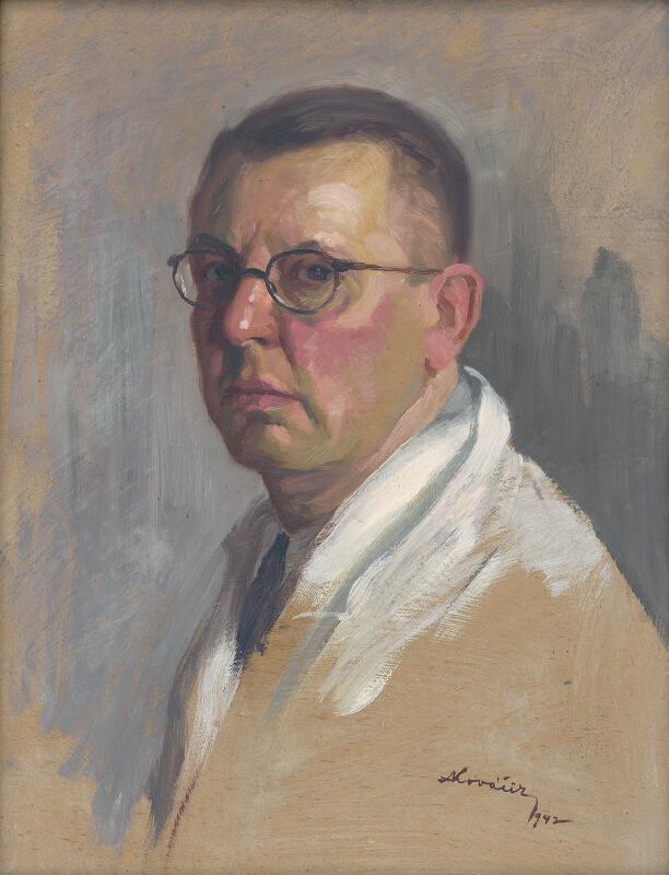 Andrej Kováčik - Vlastná podobizeň z r.1942