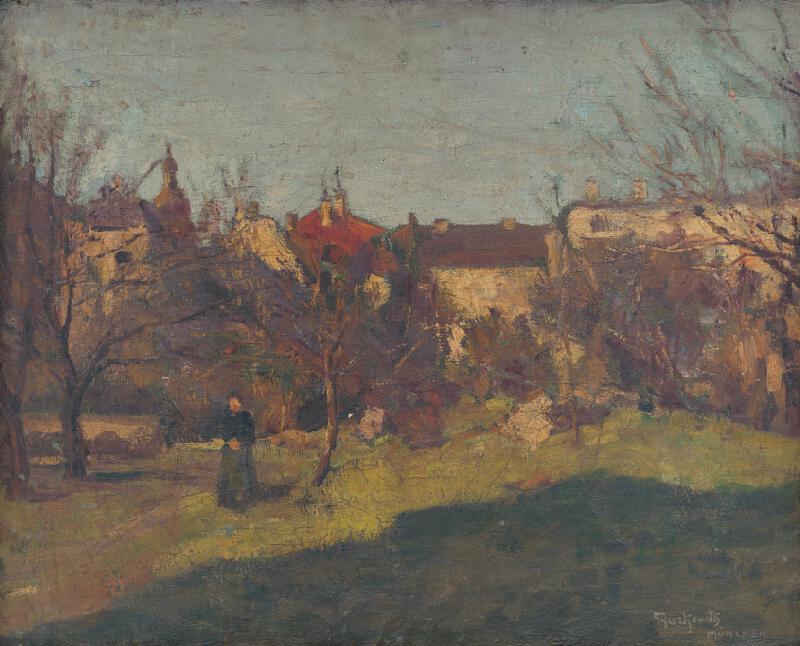 František Gyurkovits - Krajina z Mníchova