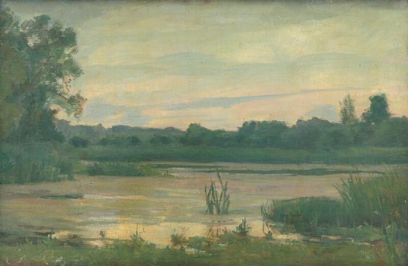 Max Rappaport - Krajina s riekou