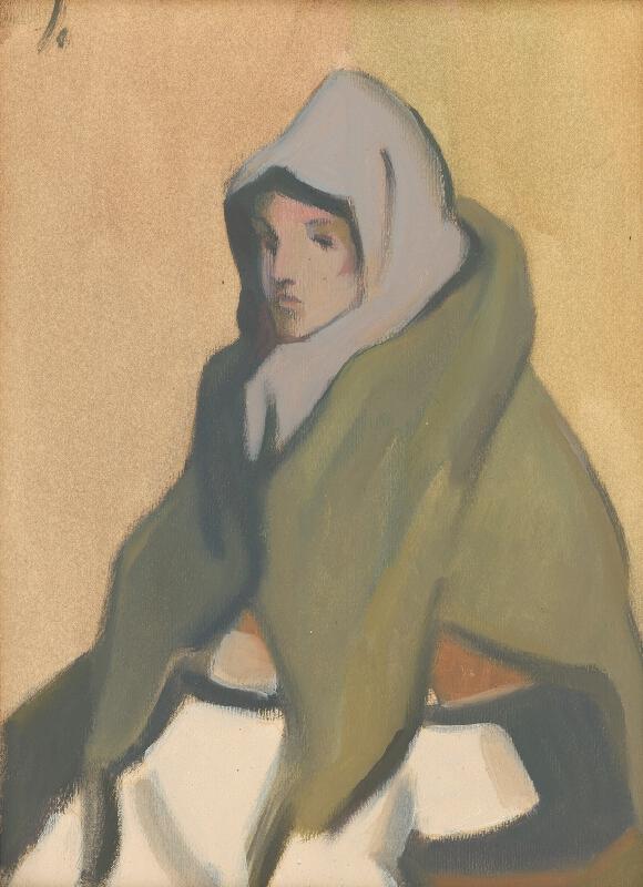 Jozef Ilečko - Žena s vlniakom
