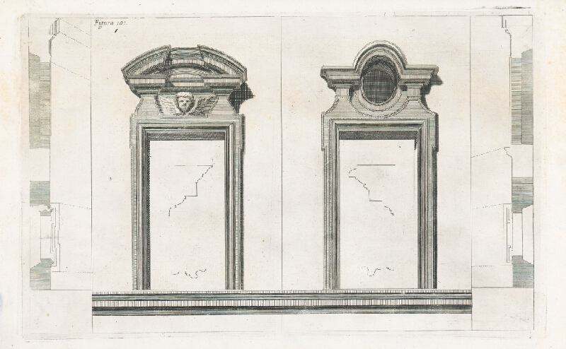 Andrea Pozzo, Giacomo Böemo Komarek - Fig.101. - Portály - 2