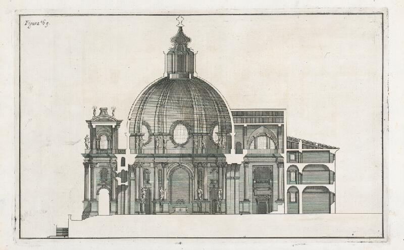 Andrea Pozzo, Giacomo Böemo Komarek – Fig.69/b - Oltár vo Frascati