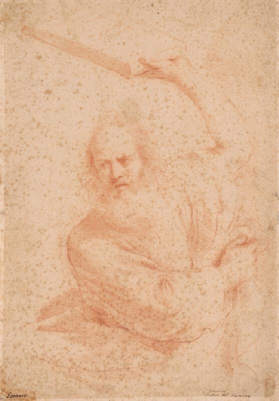 Taliansky majster z 3. tretiny 18. storočia - Štúdia k Mojžišovi