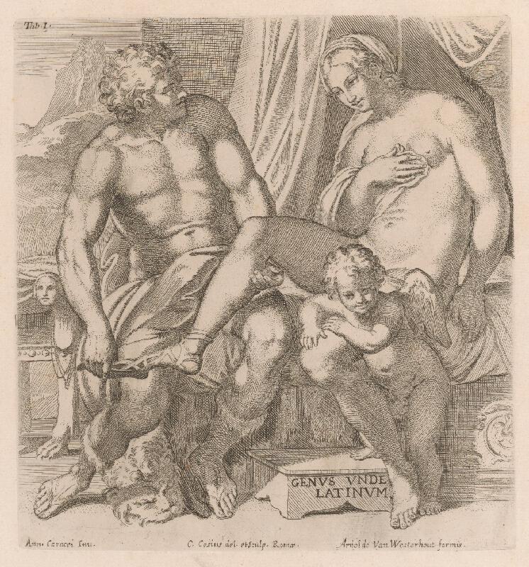 Carlo Cesio, Annibale Carracci - Venuša a Anchises