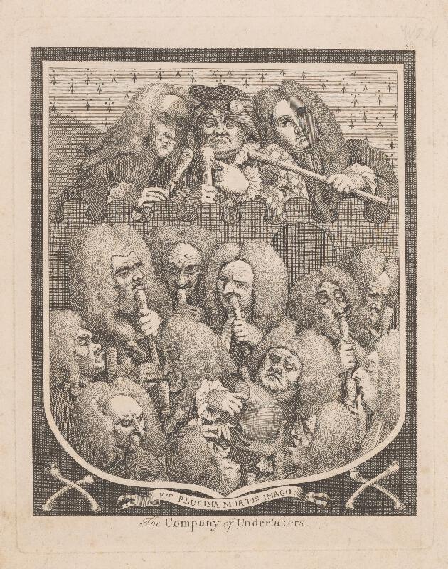 Anglický autor z 18. storočia – The Company of Undertakers