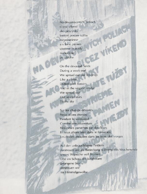 Juraj Meliš – Vizuálna poézia