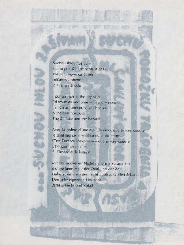 Juraj Meliš – Vizuálna poézia IV.
