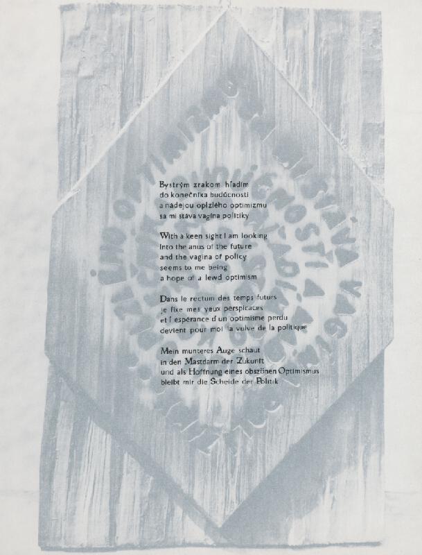 Juraj Meliš – Vizuálna poézia VIII.