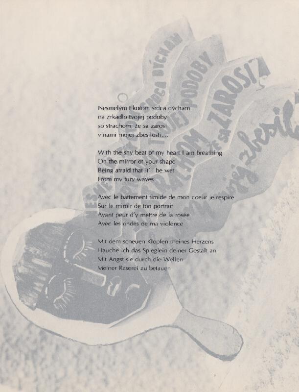 Juraj Meliš – Vizuálna poézia XII.