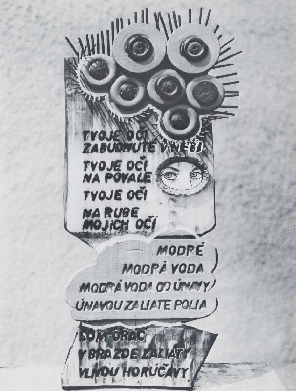 Juraj Meliš – Vizuálna poézia XIII.