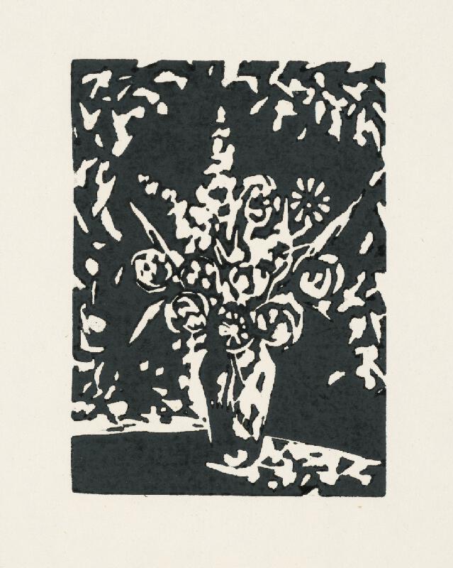 Ernest Špitz - Váza s kvetinami