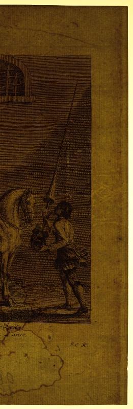 Johann Elias Ridinger - Jazdecká španielska škola