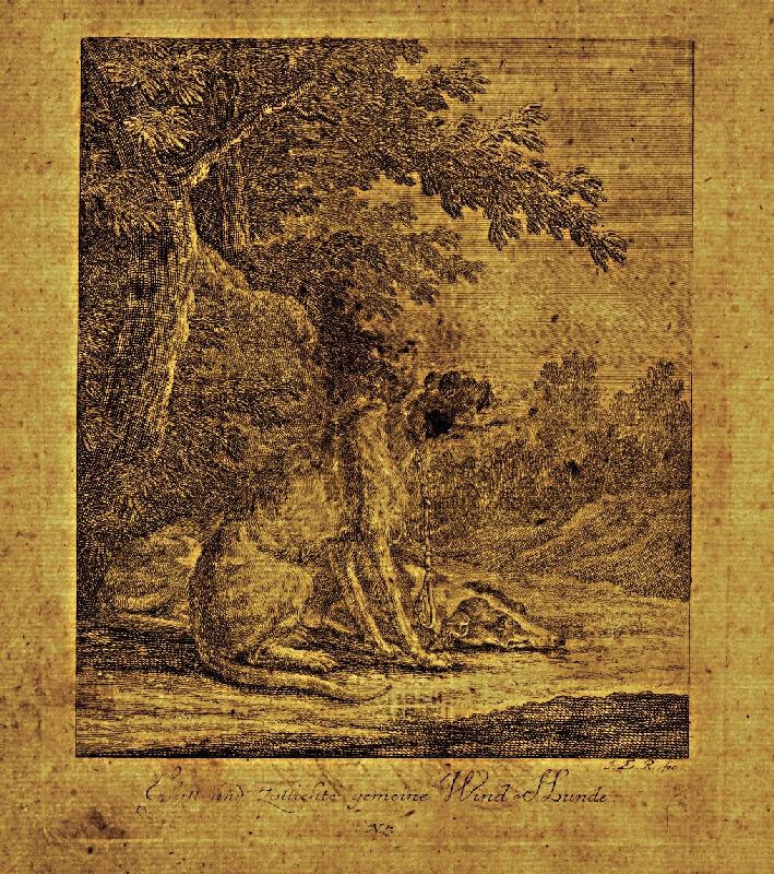 Johann Elias Ridinger - Chrti