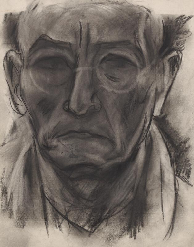 Bertalan Pór - Autoportrét II.