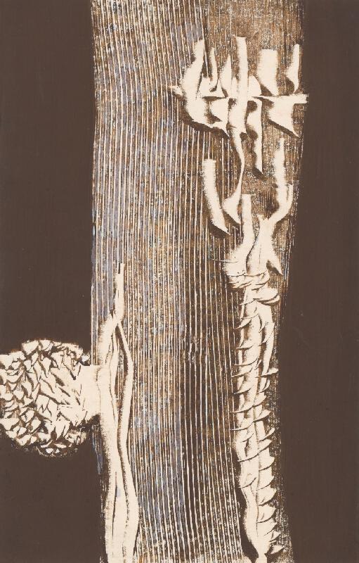 Štefan Schwartz - Ilustrácia ku knihe: Genadij Ajgi: Die Frau von rechts