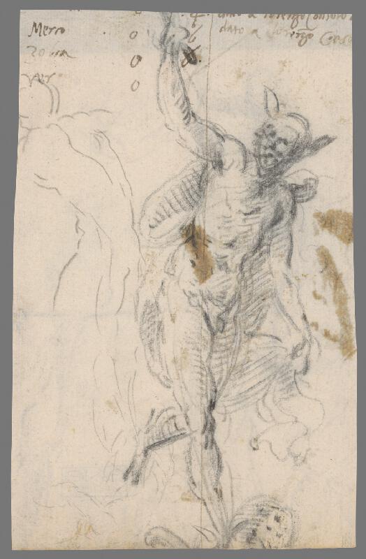 Taliansky majster z 18. storočia – Merkur