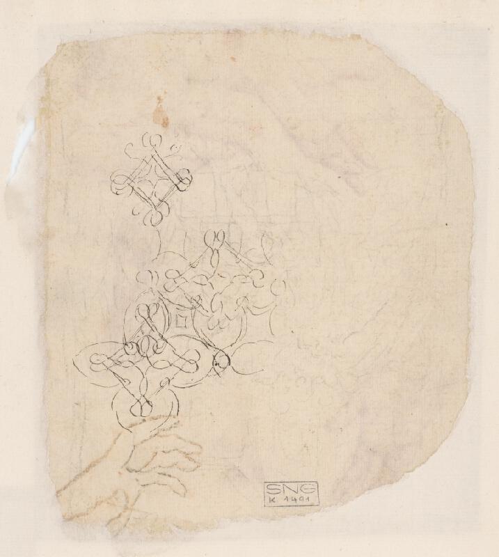 Stredoeurópsky majster z 18. storočia – Štúdie rúk