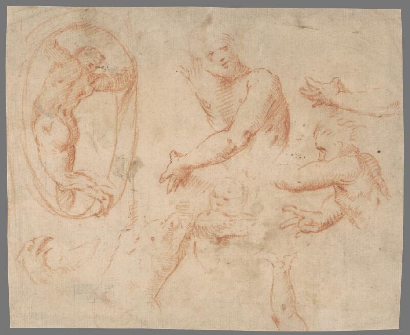 Stredoeurópsky maliar z 18. storočia - Figurálna štúdia