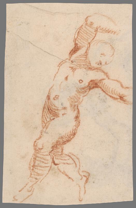 Stredoeurópsky maliar z 18. storočia – Štúdia mužského aktu