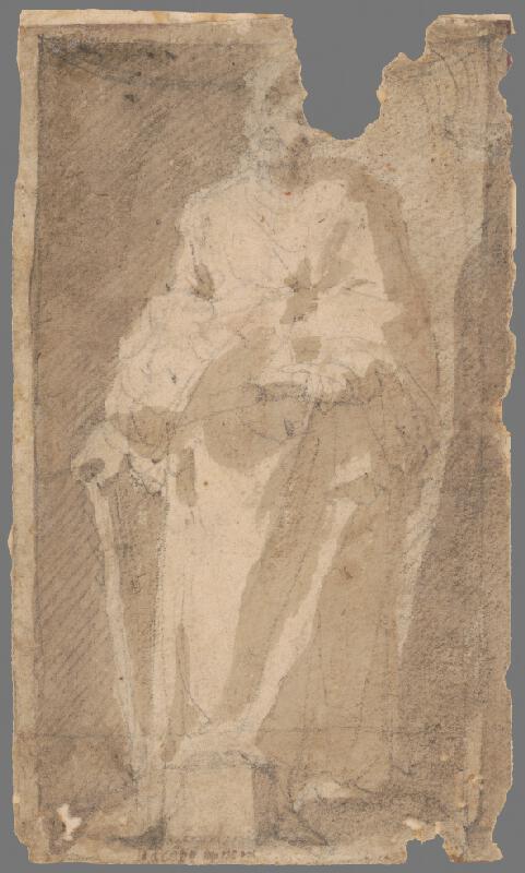 Taliansky maliar z 18. storočia - Stojaci svätec II.