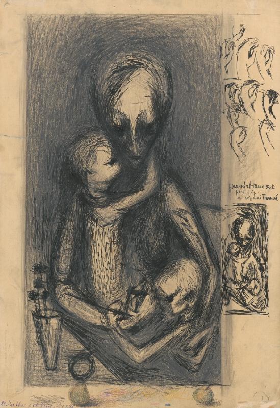 František Studený - Matka s deťmi