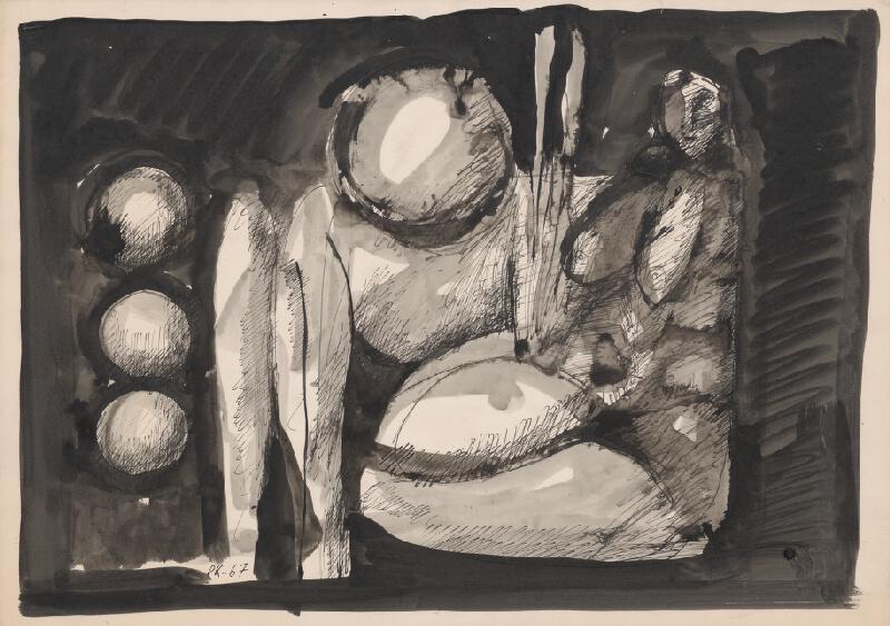 Rudolf Krivoš - Sediaca figúra
