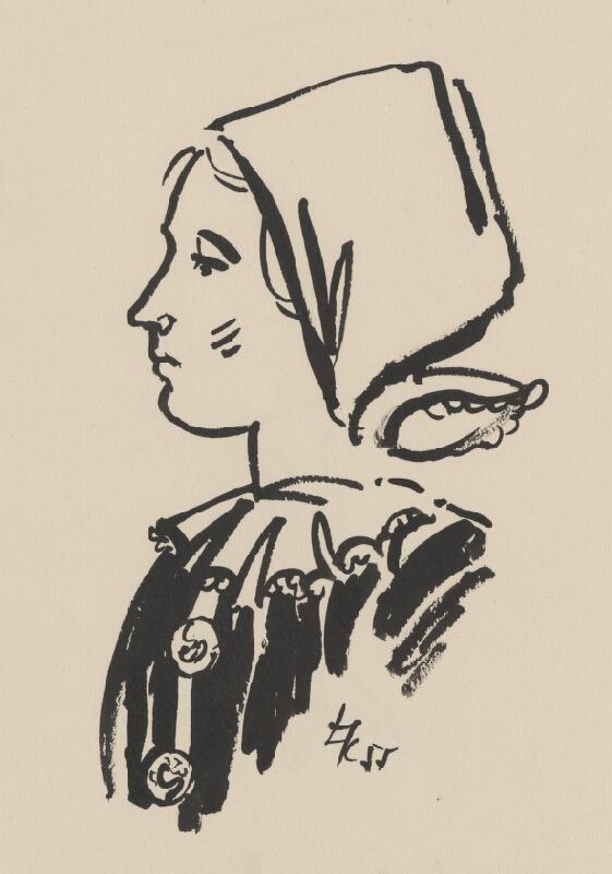 Ľubomír Kellenberger - Woman from Myjava