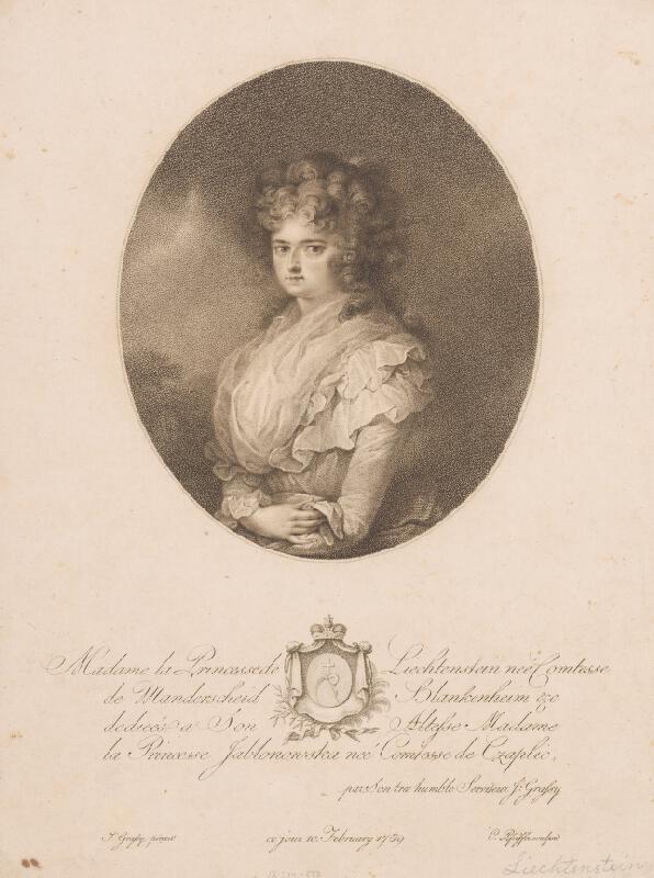 Carl Hermann Pfeiffer, Josef Grassy - Princezná Lichtenstein