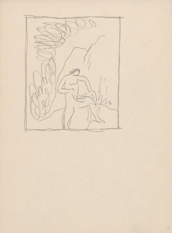Mikuláš Galanda - Skicár s rôznymi študijnými kresbami