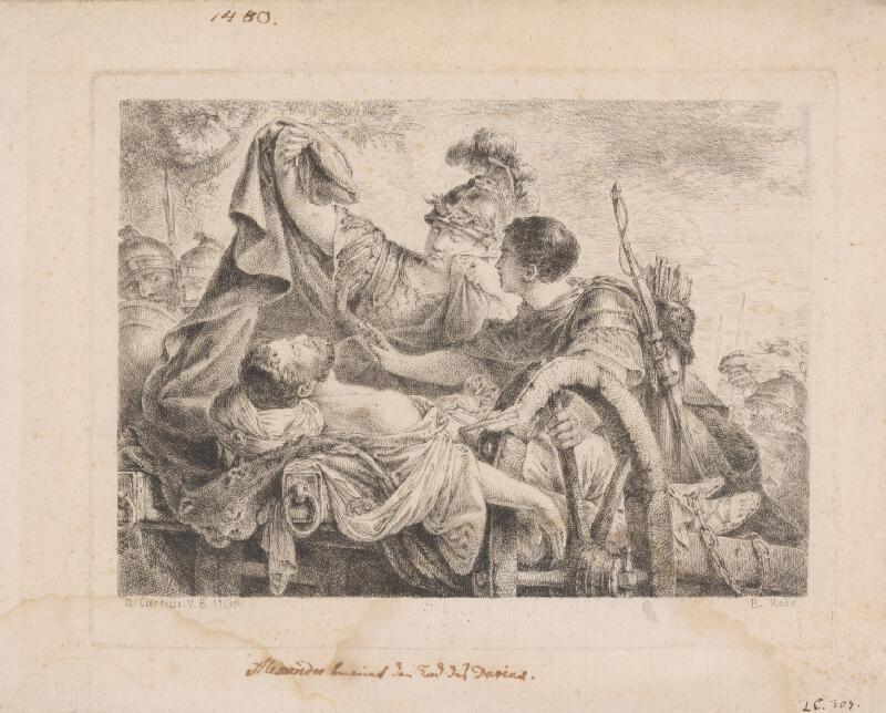 Bernhard Rode, Quido Curtius - Alexander pri Dariovom mŕtvom tele