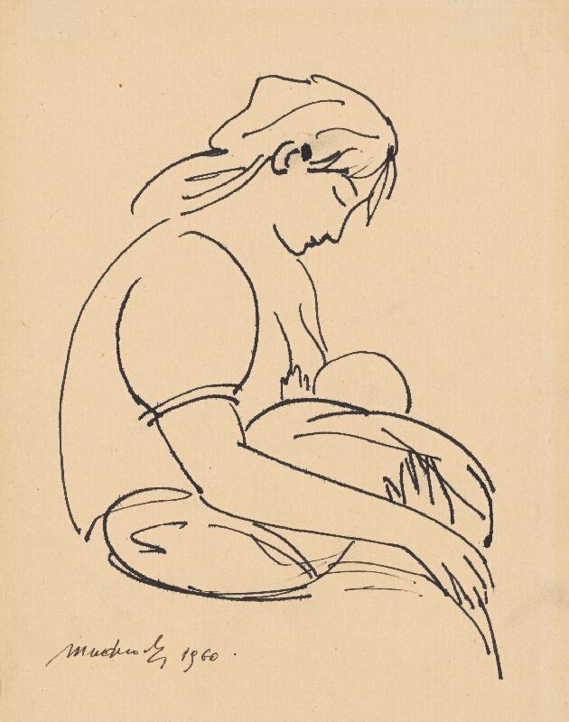 Ján Mudroch - Matka s dieťaťom