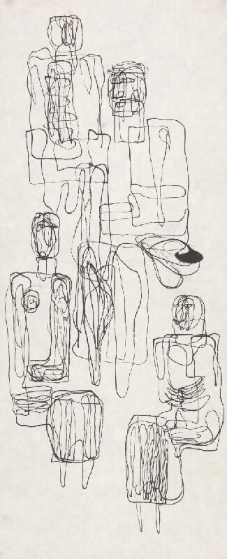 Milan Paštéka - Sediace figúry