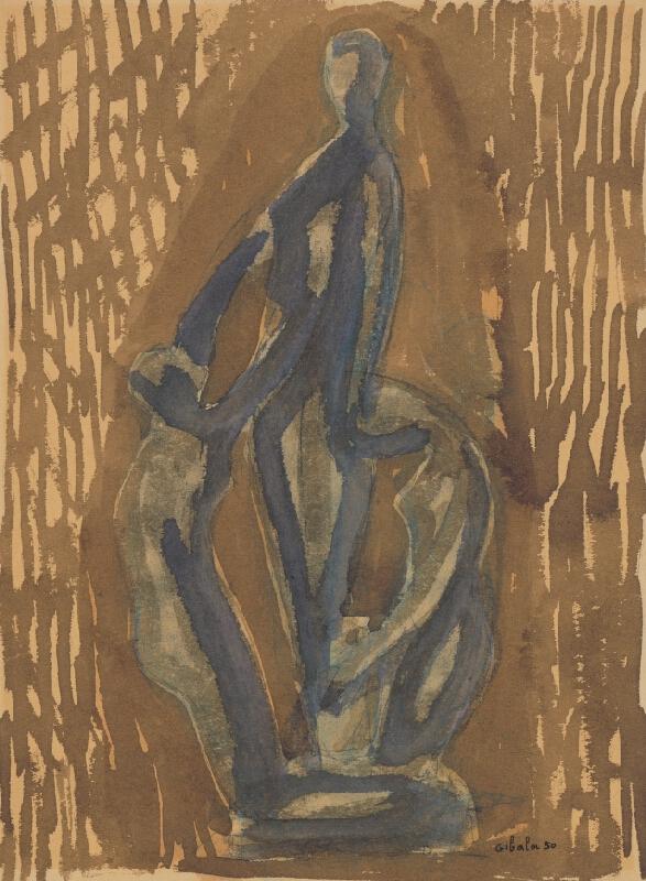 František Gibala - Figurálna štúdia