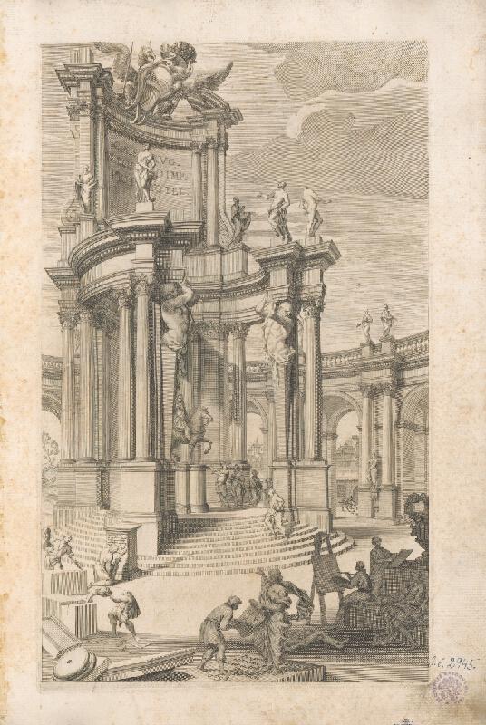 Vincenzo Mariotti, Andrea Puted, Andrea Pozzo - Pohľad na antickú architektúru