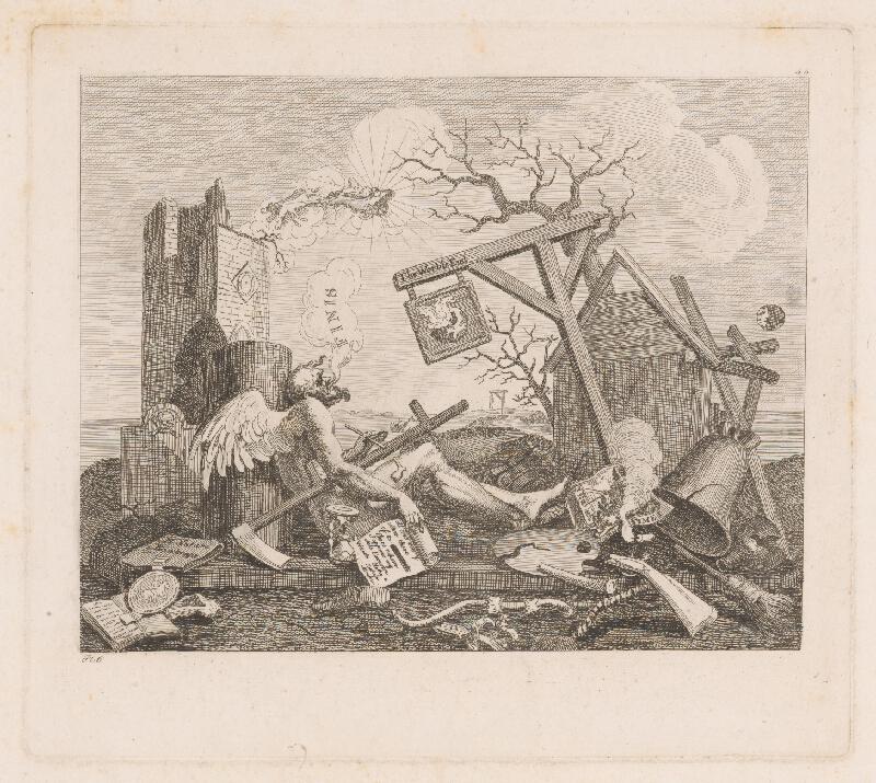 Anglický autor z 18. storočia – Koniec