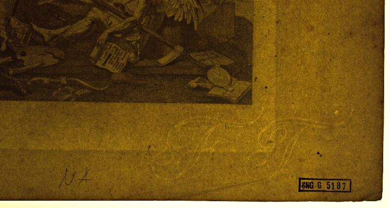 Anglický autor z 18. storočia - Koniec