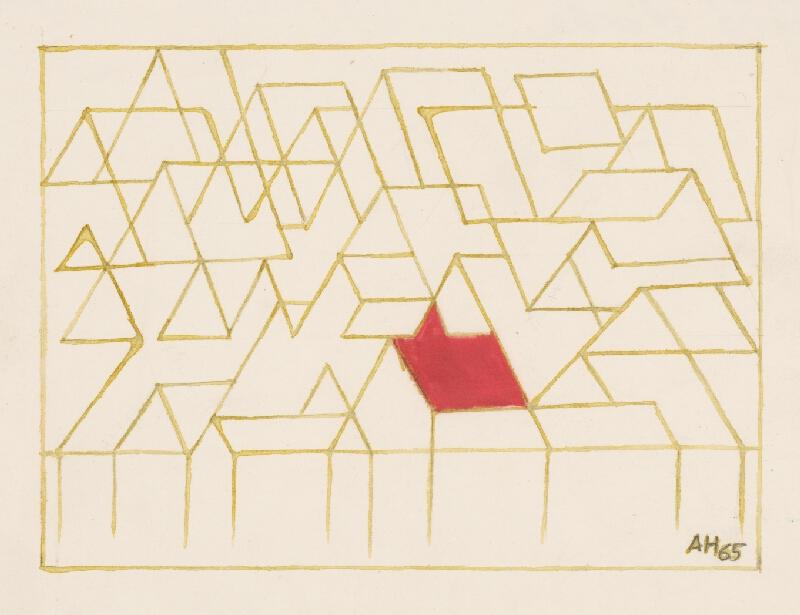 Adolf Hoffmeister - Červená strecha