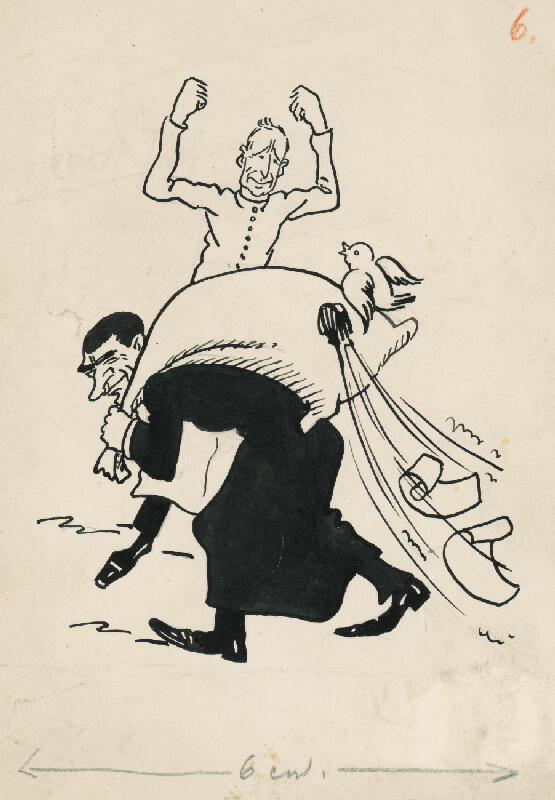 Andrej Kováčik - Satirická kresba VI.