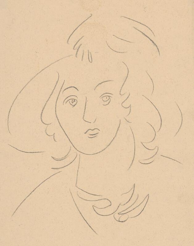 Eugen Nevan - Portrét ženy II.